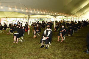 COVID Graduate seating